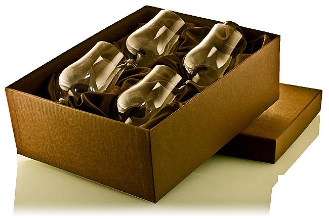 Szklanka do whisky Glencairn Glass x4 (pudełko ozdobne)
