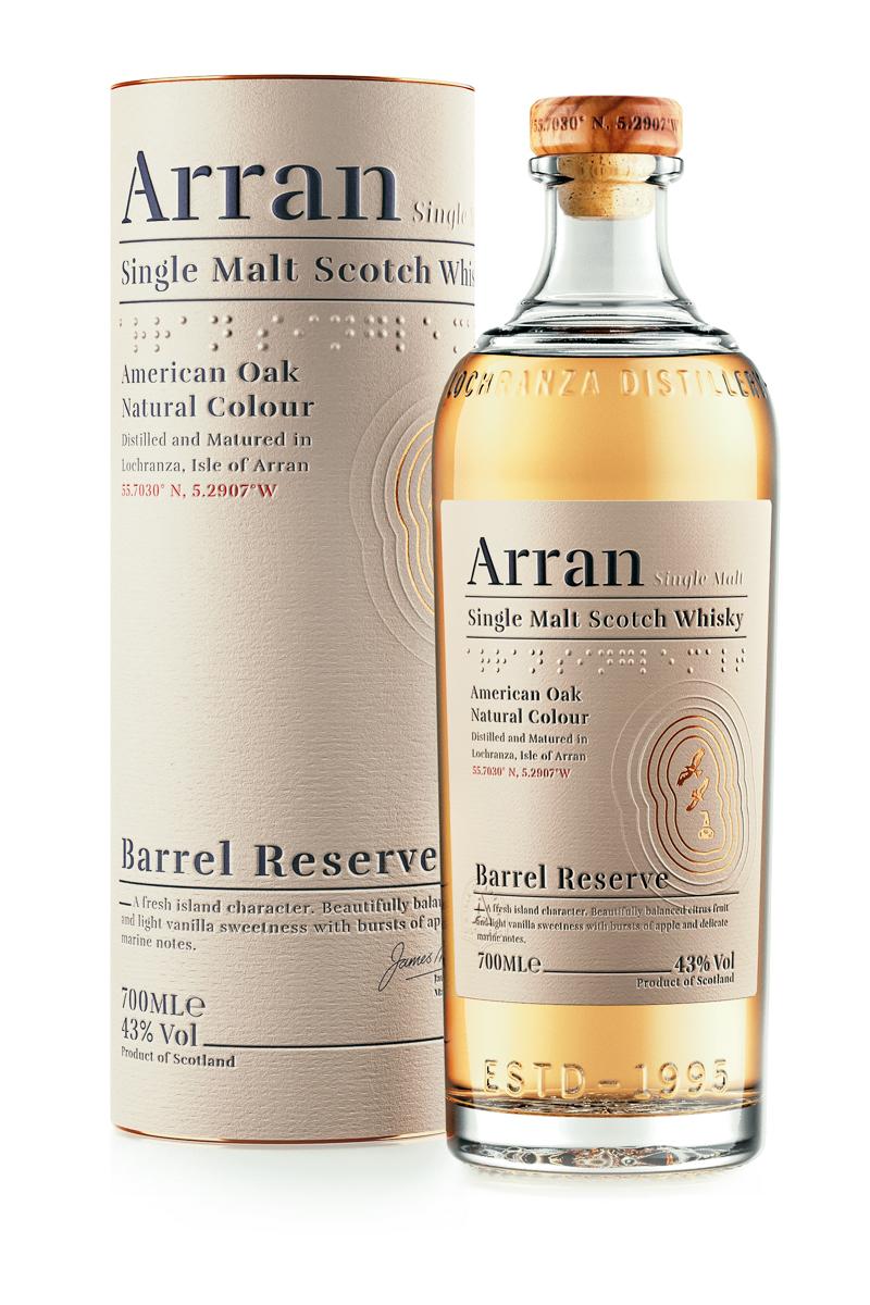 Arran Barrel Reserve / 43% / 0,7 l