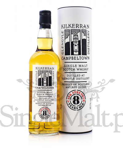 Kilkerran 8 Years Old Cask Strength / 55,7% / 0,7 l