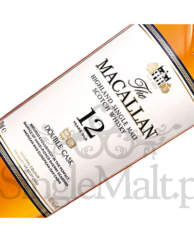 Macallan 12 Years Old Double Cask (puszka) / 40% / 0,7 l