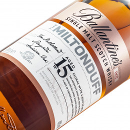 Ballantine's Miltonduff 15 Years Old / 40% / 0,7 l