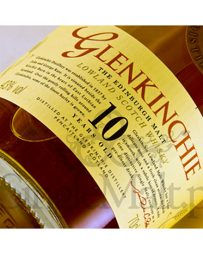 Glenkinchie 10 Years Old / 43% / 0,7 l