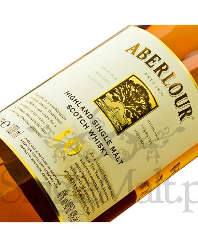 Aberlour 10 Years Old + szklanka / 40% / 1,0 l