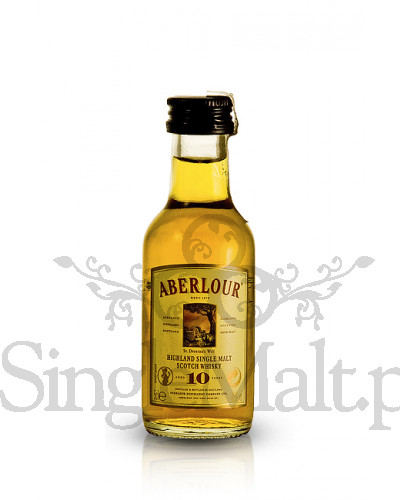 Aberlour 10 Years Old / 40% / miniaturka 0,05 l