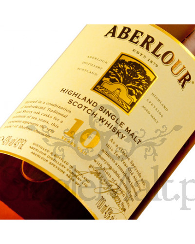 Aberlour 10 Years Old / 43% / 0,7 l