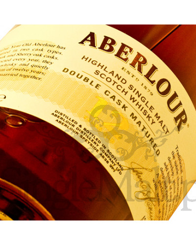 Aberlour 12 Years Old / Double Cask Matured / 43% / 0,7 l
