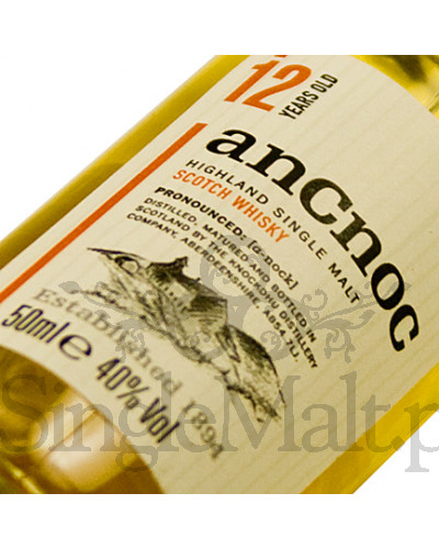 anCnoc 12 Years Old / 40% / miniaturka 0,05 l