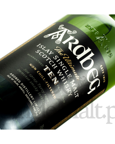 Ardbeg 10 Years Old / 46% / 0,7 l