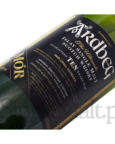 Ardbeg 10 Years Old / MÓR / 46% / 4,5 l