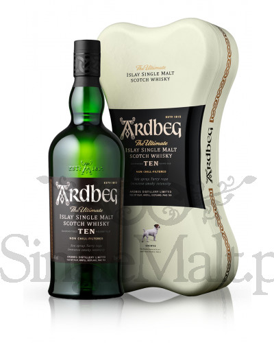 Ardbeg 10 Years Old / Ardbone Pack / 46% / 0,7 l
