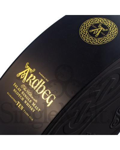 Ardbeg 10 Years Old + 2 szklaneczki / Quadrant Pack / 46% / 0,7 l