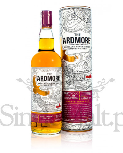 Ardmore 12 Years Old / Port Wood Finish / 46% / 0,7 l