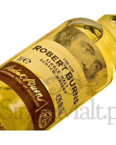 Isle of Arran Robert Burns Single Malt / 43% / miniaturka 0,05 l