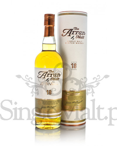 Isle of Arran 18 Years Old / 46% / 0,7 l