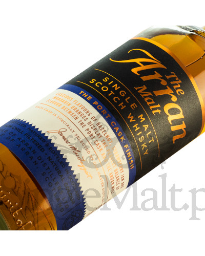 Isle of Arran Port Cask Finish / 50% / 0,7 l