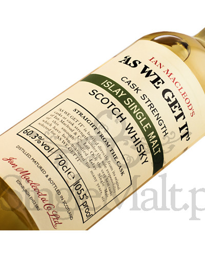 As We Get It / Islay Single Malt / 60,5% / 0,7 l