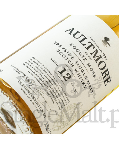 Aultmore 12 Years Old / 46% / 0,7 l