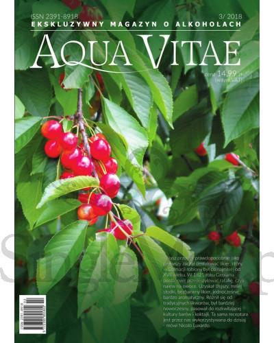 Aqua Vitae - magazyn o alkoholach - 03-2018