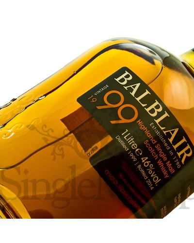 Balblair 1999 Vintage / 1st release / 2015 / 46% / 1,0 l