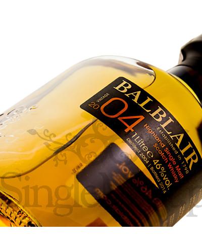 Balblair 2004 Vintage / 1st release / 2014 / 46% / 1,0 l