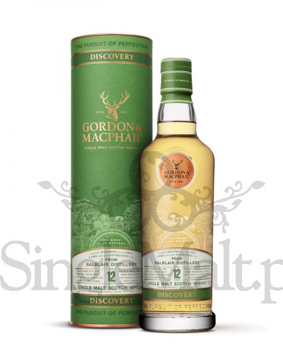Balblair 12 Years Old / Gordon&Macphail / Discovery / 43% / 0,7 l