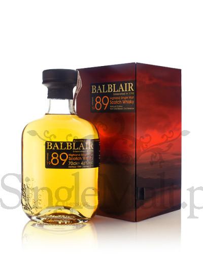 Balblair 1989 Vintage / 3rd release / 2012 / 46% / 0,7 l