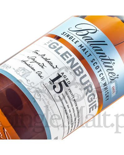Ballantine's Glenburgie 15 Years Old / 40% / 0,7 l