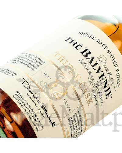 Balvenie 12 Years Old Triple Cask / 40% / 1,0 l