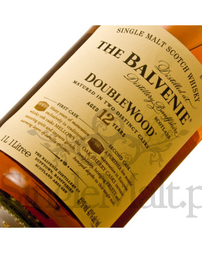 Balvenie 12 Years Old Double Wood / 40% / 1,0 l