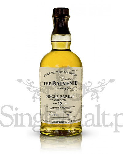 Balvenie 12 Years Old Single Barrel / 47,8% / 0,7 l