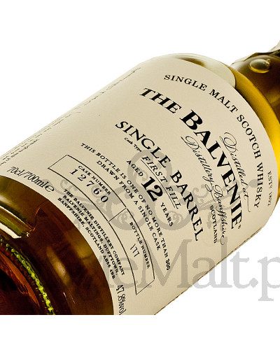 Balvenie 12 Years Old Single Barrel / 47,8% / 0,7 l