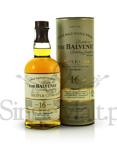 Balvenie 16 Years Old Triple Cask / 40% / 0,7 l
