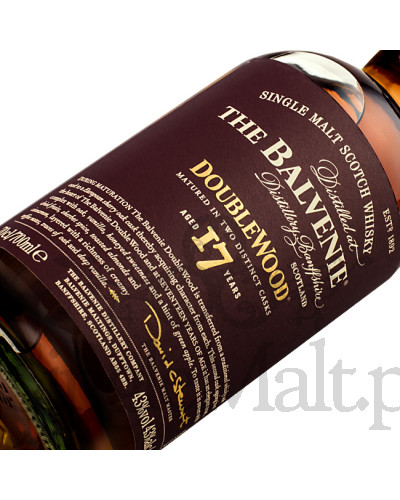 Balvenie 17 Years Old DoubleWood / 43% / 0,7 l