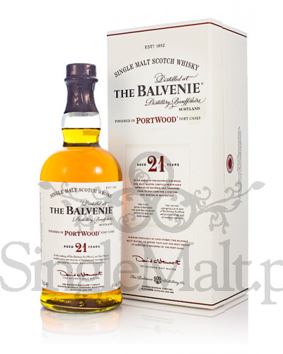 Balvenie 21 Years Old Portwood / 40% / 0,7 l