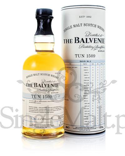Balvenie Tun 1509 / Batch 4 / 51,7% / 0,7 l