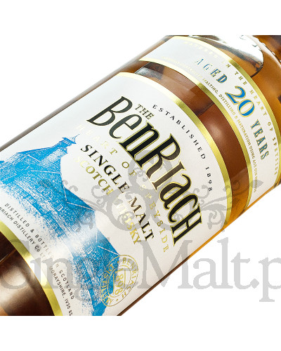 BenRiach 20 Years Old / 43% / 0,7 l