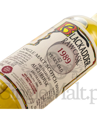 Auchroisk 22 Years Old / 1989 / Blackadder / Raw Cask / 63,4% / 0,7 l