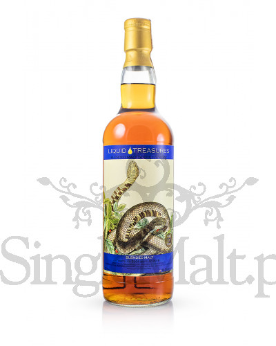 Blended Malt 17 Years Old / 2001 / Snakes / Liquid Treasures / 2018 / 46,3% / 0,7 l