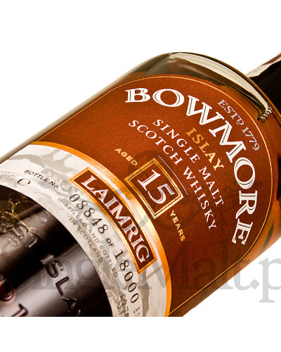 Bowmore 15 Years Old Laimrig / 54,1% / 0,7 l