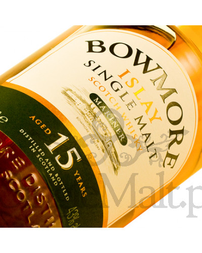 Bowmore 15 Years Old Mariner / 43% / 1,0 l