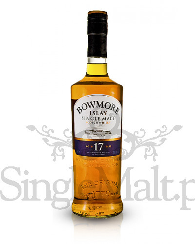 Bowmore 17 Years Old  / 43% / 0,75 l