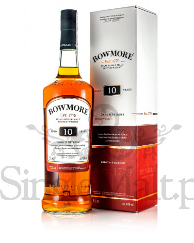 Bowmore 10 Years Old / Dark & Intense / 40% / 1,0 l