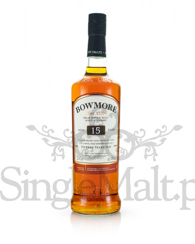 Bowmore 15 Years Old / 43% / 0,7 l