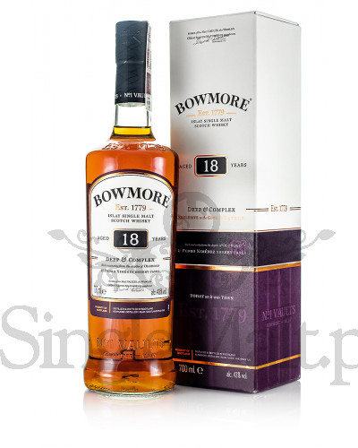 Bowmore 18 Years Old / Deep & Complex / 43% / 0,7 l