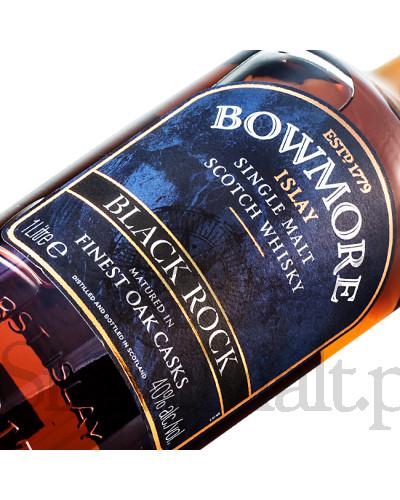 Bowmore Black Rock / 40% / 1,0 l