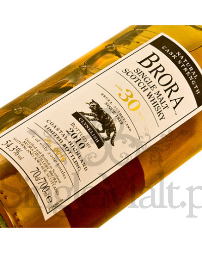 Brora 30 Years Old / 54,3% / 0,7 l