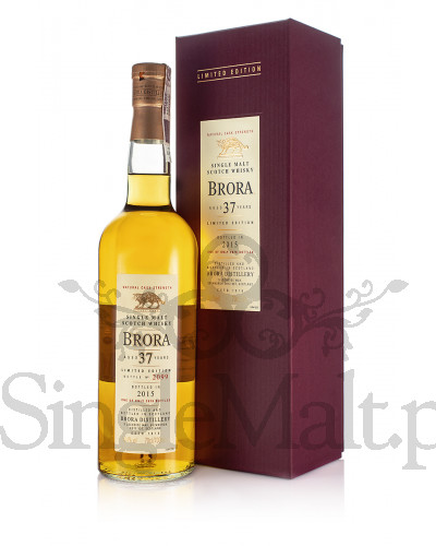 Brora 37 Years Old / Diageo Special Release 2015 / 50,4% / 0,7 l
