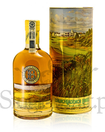 Bruichladdich 15 Years Old Birkdale 'Links' / 46% / 0,7 l