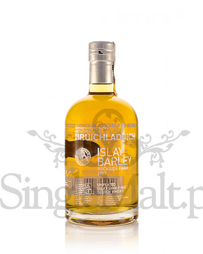 Bruichladdich Islay Barley / Rockside Farm / 2007 / 50% / 0,7 l
