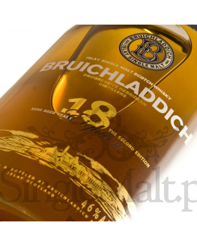 Bruichladdich 18 Years Old Second Edition / 46% / 0,7 l